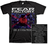 Fear Factory- Soul of a New Machine (Front/Back) T-shirts