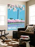 Washington DC, Washington Monument Wall Mural by  Lantern Press