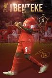 Liverpool- Benteke 15/16 Posters
