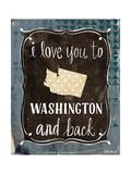Washington and Back Posters par Katie Doucette