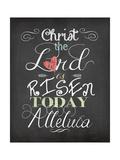 Alleluia Poster by Jo Moulton