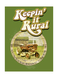 Keepin it Rural Premium Giclee Print by Jim Baldwin
