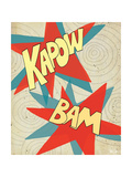 Kapow-Bam Art by Shanni Welsh