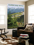 Hurricane Ridge, Olympic National Park, Washington Wall Mural by  Lantern Press