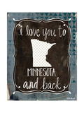 Minnesota and Back Prints by Katie Doucette
