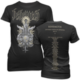 Women's:  Behemoth-Divided States (Front/Back) Shirts