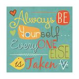 Be Yourself II Art by Pela Studio