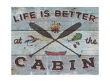 Cabin Fever I Premium Giclee Print by Janelle Penner