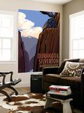 Durango and Silverton Narrow Gauge Railroad, c.2009 Wall Mural by  Lantern Press