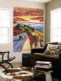 Acadia National Park, Maine - Cadillac Mountain Wall Mural by  Lantern Press