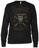 Long Sleeve:  Waylon Jennings- Drinkin and Dreamin Langärmelig