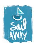 Sail Away Kunst av Katie Pertiet