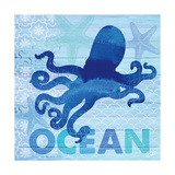 Sea Glass Octopus Posters by  Studio Bella