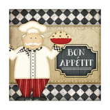 Bistro Chef Bon Appetit Prints by Jennifer Pugh