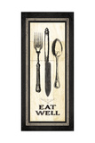 Eat Well Posters by Jo Moulton