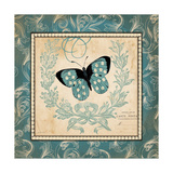 Vintage Butterfly Prints by Jo Moulton