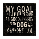 My Goal Is Poster by Jim Baldwin