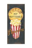 Popcorn Prints by Kim Lewis