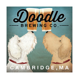 Doodle Beer Double - Cambridge MA Poster by Ryan Fowler