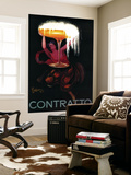Contratto Vintage Poster - Europe Wall Mural by  Lantern Press