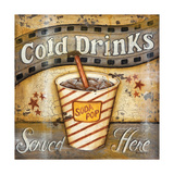 Cold Drinks Prints by Kim Lewis