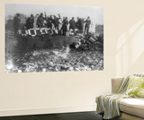 Beer Bottles Smashed During Prohibition Photograph - Washington, DC Wall Mural by  Lantern Press