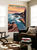 Acadia National Park, Maine - Mount Desert Island Wall Mural by  Lantern Press