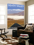Death Valley National Park, California, Highway Scene Wall Mural by  Lantern Press