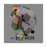 Art of Soccer Kunst von Jim Baldwin