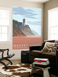 Cape Cod, Massachusetts, Nauset Lighthouse Wall Mural by  Lantern Press
