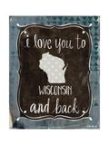 Wisconsin and Back Art par Katie Doucette