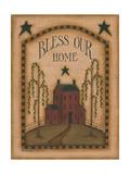 Bless Our Home Poster av Kim Lewis