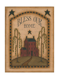 Bless Our Home Print by Kim Lewis