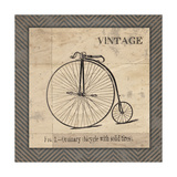 Vintage Bicycle Prints by Jo Moulton