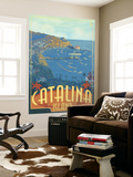 Catalina Island, California, Travel Scene Wall Mural by  Lantern Press