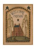 Bienvenidos amigos Lámina por Kim Lewis