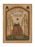 Welcome Friends Premium Giclee Print by Kim Lewis