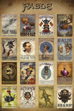 Fable- Steampunk Adverts Poster