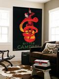 Bitter Campari Vintage Poster - Europe Fototapete von  Lantern Press