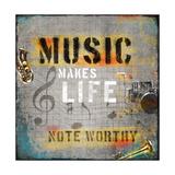Music Makes Life Prints by Jim Baldwin