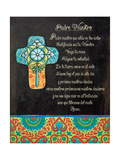 The Lord's Prayer Premium Giclee Print by Jo Moulton