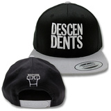 Descendents- White Logo Snapback Hat