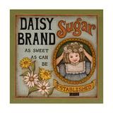 Daisy Sugar Art by Kim Lewis