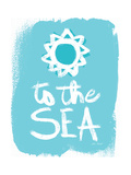 To the Sea Posters by Katie Pertiet