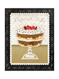 Kitchen Cuisine Dessert IV Prints by Jennifer Pugh