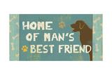 Best Friends Panel III Print by Pela Studio
