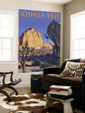Joshua Tree National Park, California, Boulder Climber Wall Mural by  Lantern Press