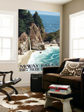 McWay Falls - Big Sur Coast, California Wall Mural by  Lantern Press
