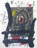 Derriere le Miroir, no. 151-152, pg 25 Serigraph by Joan Miro