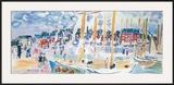 Dimanche a Deauvilie Art by Raoul Dufy